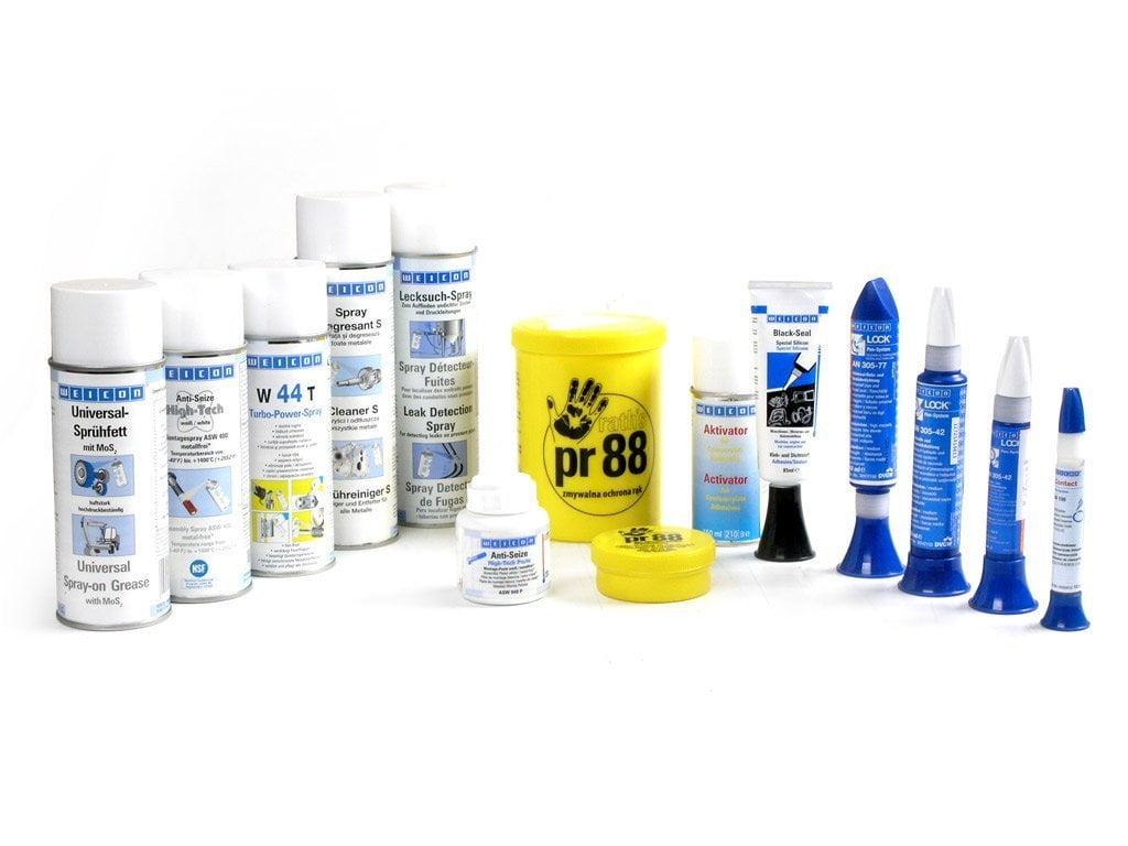 Chemia przemysłowa - smary, spray, cynk, uszczelczniacze
