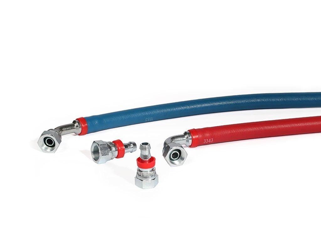 Wąż samozaciskowy (system push lok)