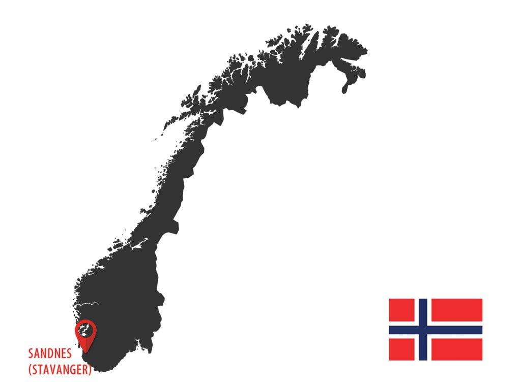 Otwarcie oddziałów w Norwegii