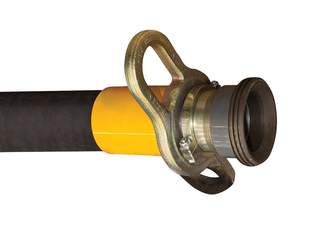 Przewód gumowy do przetłaczania suchego cementu