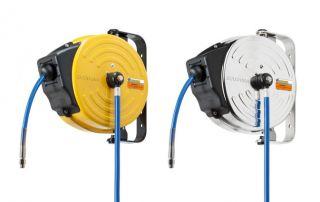 Automatyczne zwijarki bębnowe Ecodora do przesylu powietrza, wody, detergentów