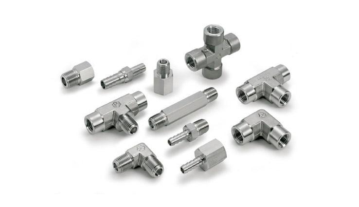 Instrumentation threaded connectors