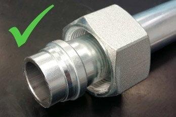 Prawidłowy montaż pierścienia DIN 2353