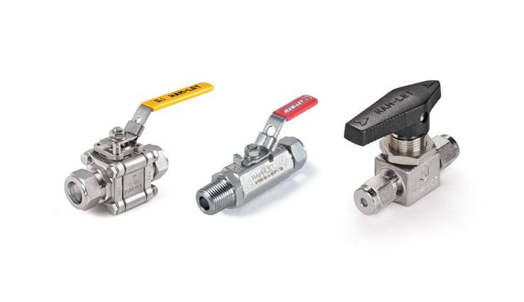 Instrumentation ball valves medium pressure