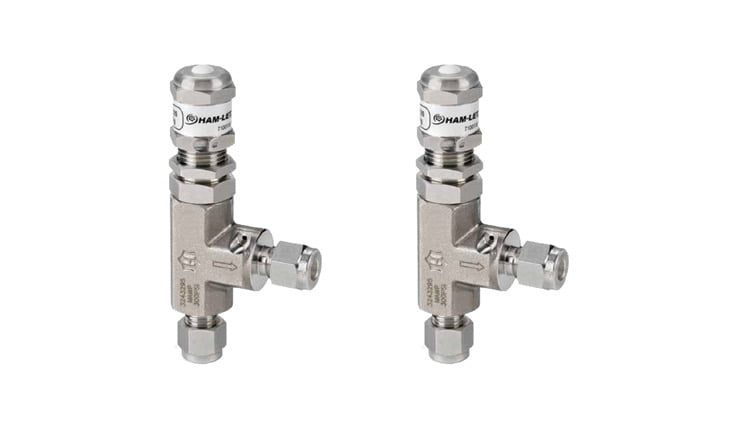 Instrumentation relief valves