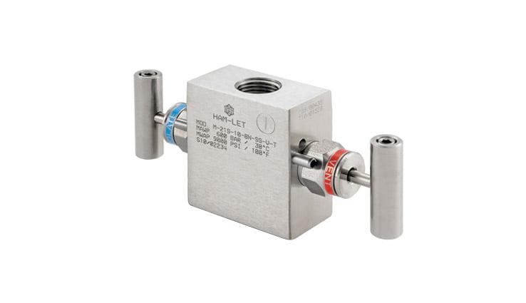 2-valve manifolds