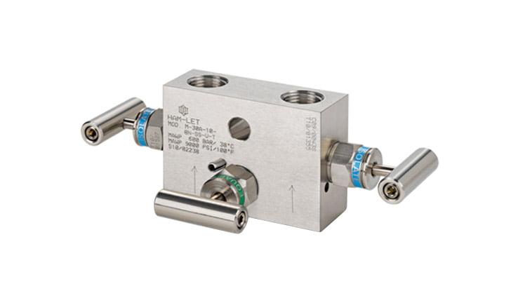 3-valve manifolds